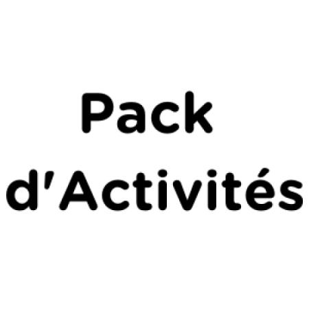 Pack d'activités